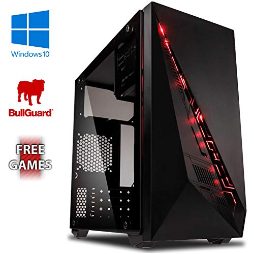 VIBOX Ultra 11XLW Gaming PC Computer mit War Thunder Spiel Bundle, Windows 10 OS (3,4GHz AMD A8 Quad-Core Prozessor, Radeon R7 Grafik Chip, 32Go DDR4 2133MHz RAM, 2TB HDD)