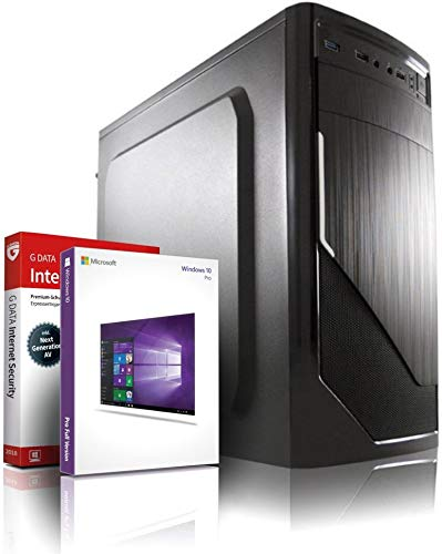 Entry Gaming/Multimedia/Office 12-Kern Computer mit 3 Jahren Garantie! | AMD FX-8800 4x3.4 GHz | 8GB DDR4 | 256 GB SSD | 8Kern Grafik Radeon DX12 | USB3.1 | 22x DVD±RW | Windows10 | MS Office | #6263