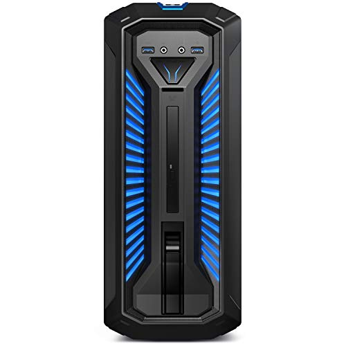 MEDION ERAZER P67068 Gaming Desktop PC (Intel Core i5-9400F, 16GB DDR4 RAM, 1TB HDD, 512GB PCIe SSD, NVIDIA GeForce GTX 1660 Ti 6GB GDDR5, DVD, Hot-Swap, WLAN, Win 10 Home)