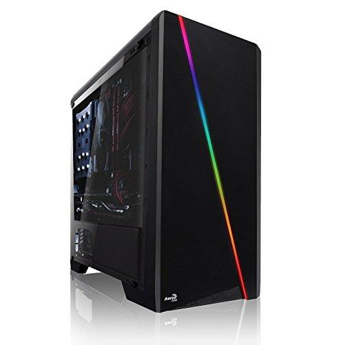 Memory PC High End Gaming PC AMD Ryzen 5 2600 6X 3.9 GHz, NVIDIA RTX 2070 SUPER 8GB, 32 GB DDR4, 480GB SSD + 1000 GB HDD, Windows 10 Pro 64bit