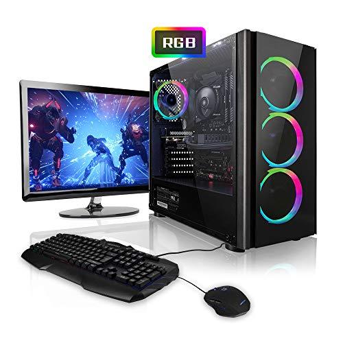 Megaport Gaming-PC Komplett-PC Intel Core i7-9700 8x 4.70GHz • 24